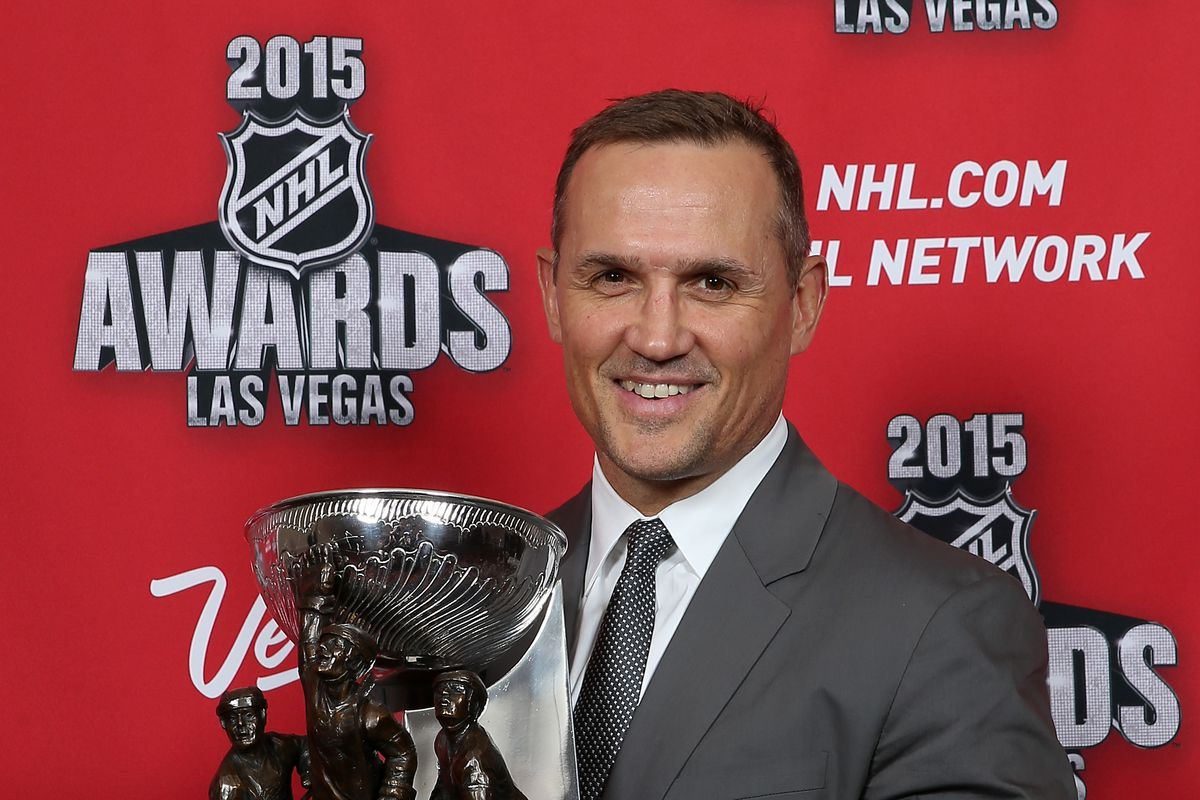 2015 NHL Awards - Press Room