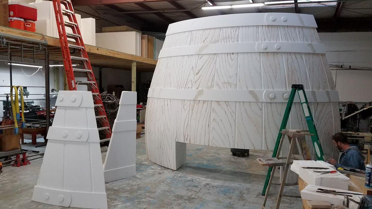 Alamo Drafthouse Mueller's Barrel O' Fun entrance