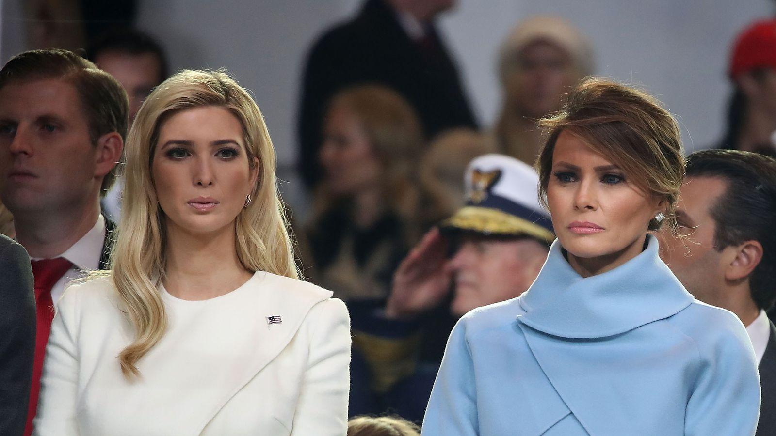 размножение мелания и иванка трамп фото что сохранил полуголые