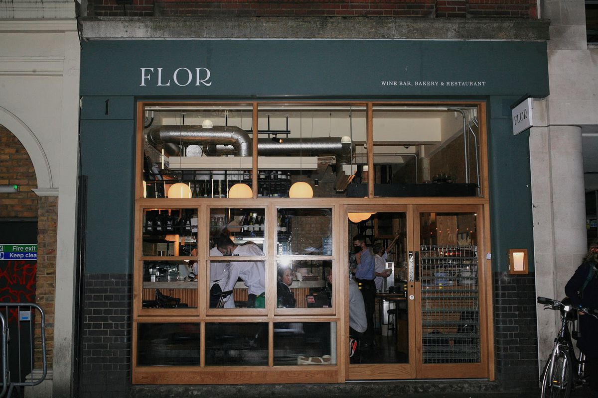 Flor in Borough Market on the eve of lockdown in London