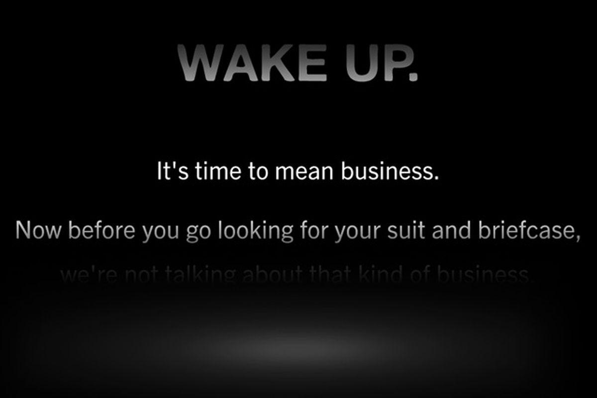 BB wake up