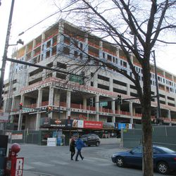 """Sheffield & Addison. The Addison Clark project is now """"topped out,"""" so to speak, and begins to assume its final profile"""