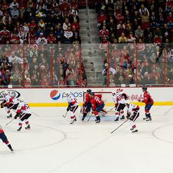 Ovechkin Plays on Delayed Penalty