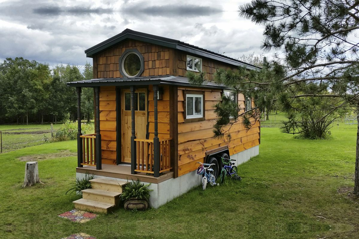 Alek Lisefski Tiny House 8 tiny houses that have more storage than your house - this