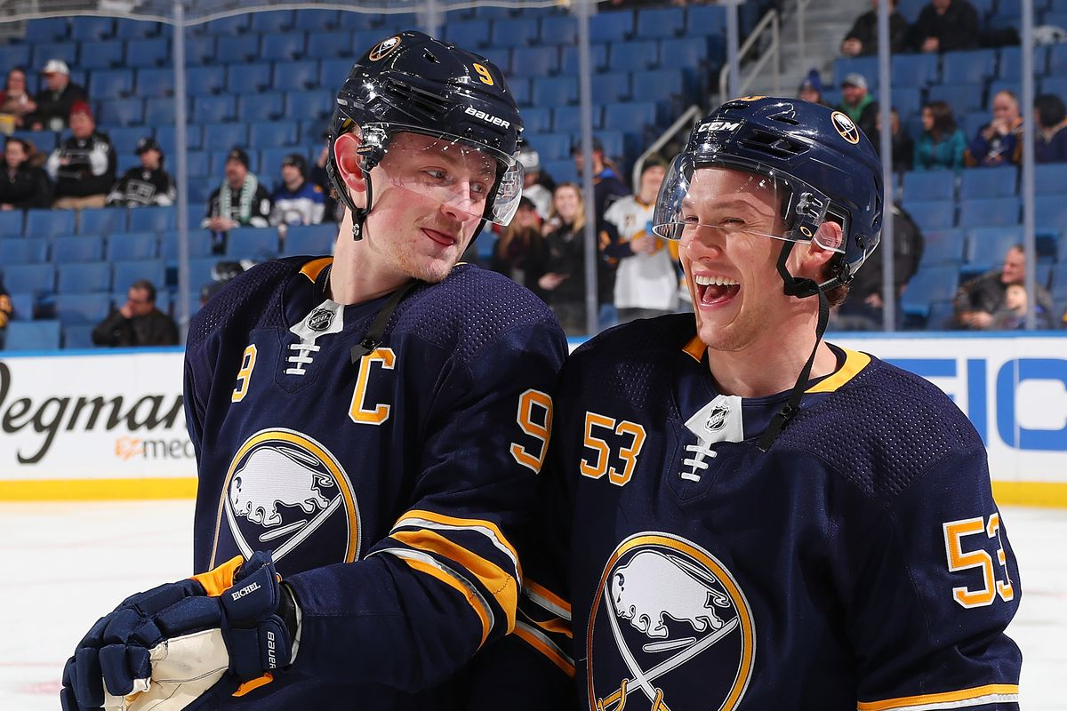 best service 95656 7973d Sabres Eichel elected to All-Star game and Skinner snubbed ...