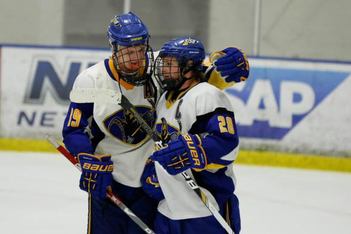 Captain Kyle Dutra (#28) has played in 160 games as a Spartan. Tonight will be his last at home.