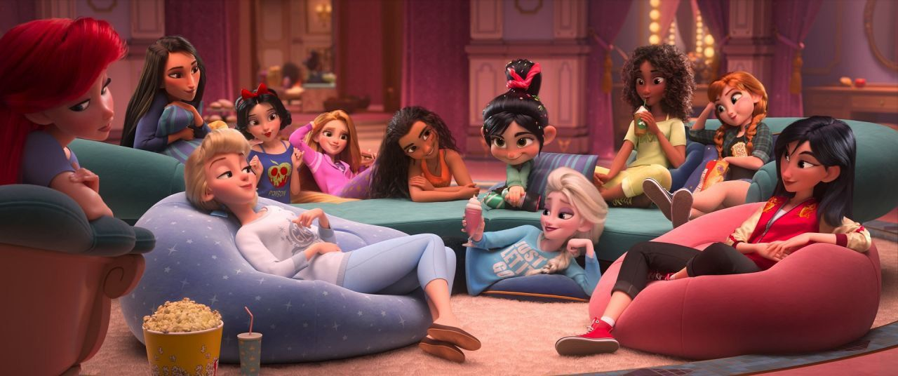 Ralph Breaks The Internet S End Credits Scene And Disney Easter Eggs