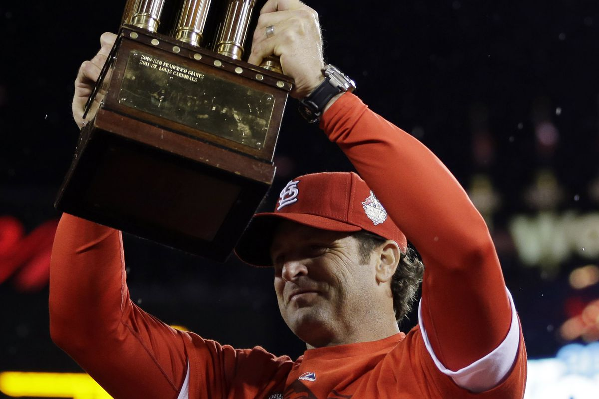 There's still one more trophy to be hoisted in 2013.
