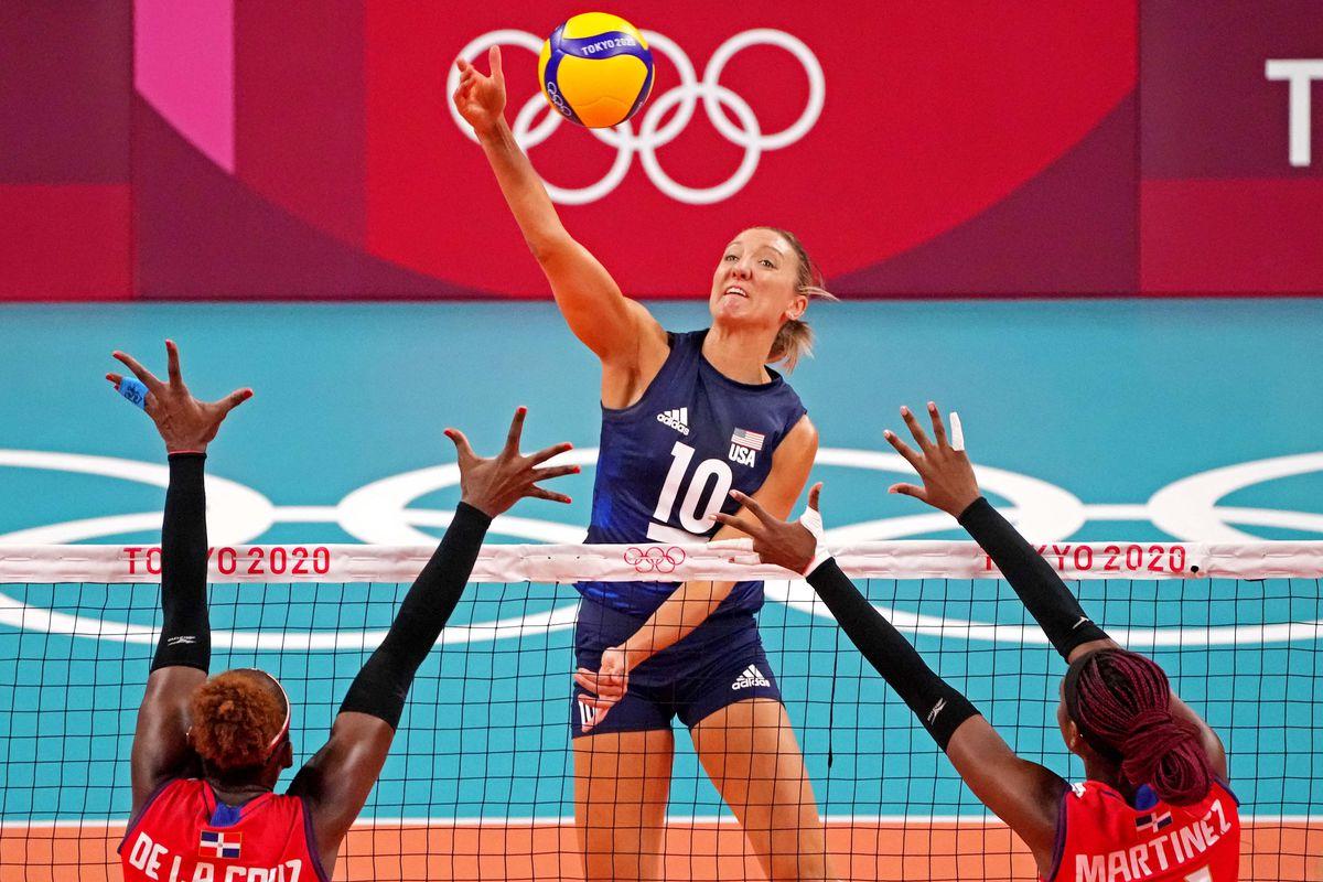 Olympics: Volleyball-Womens Quarterfinals