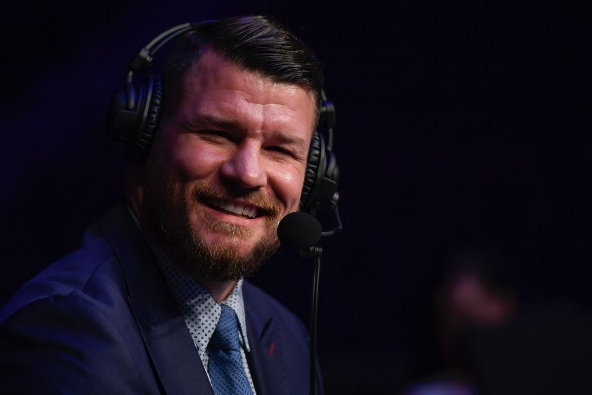 Michael Bisping during a UFC Fight Night in Jacksonville last year.