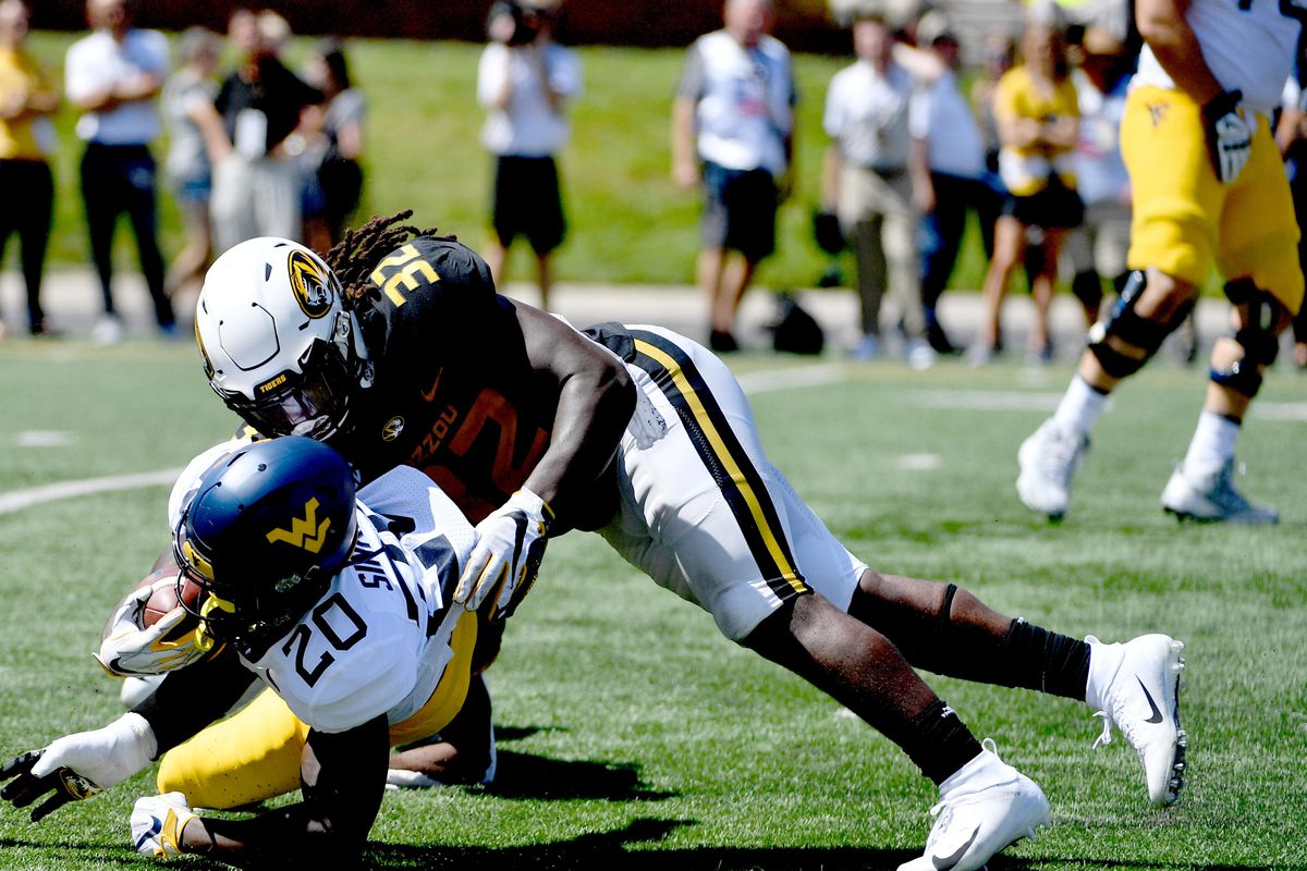 Mizzou Football racked up the penalties against West Virginia