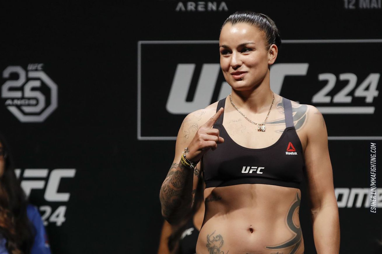 Raquel Pennington (pictured) fights Germaine de Randamie at UFC Denver on Nov. 10