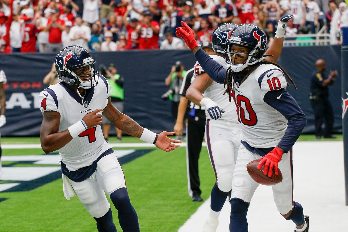 Deshaun Watson s reliance on DeAndre Hopkins is at the forefront for  Patriots 15f0886b7