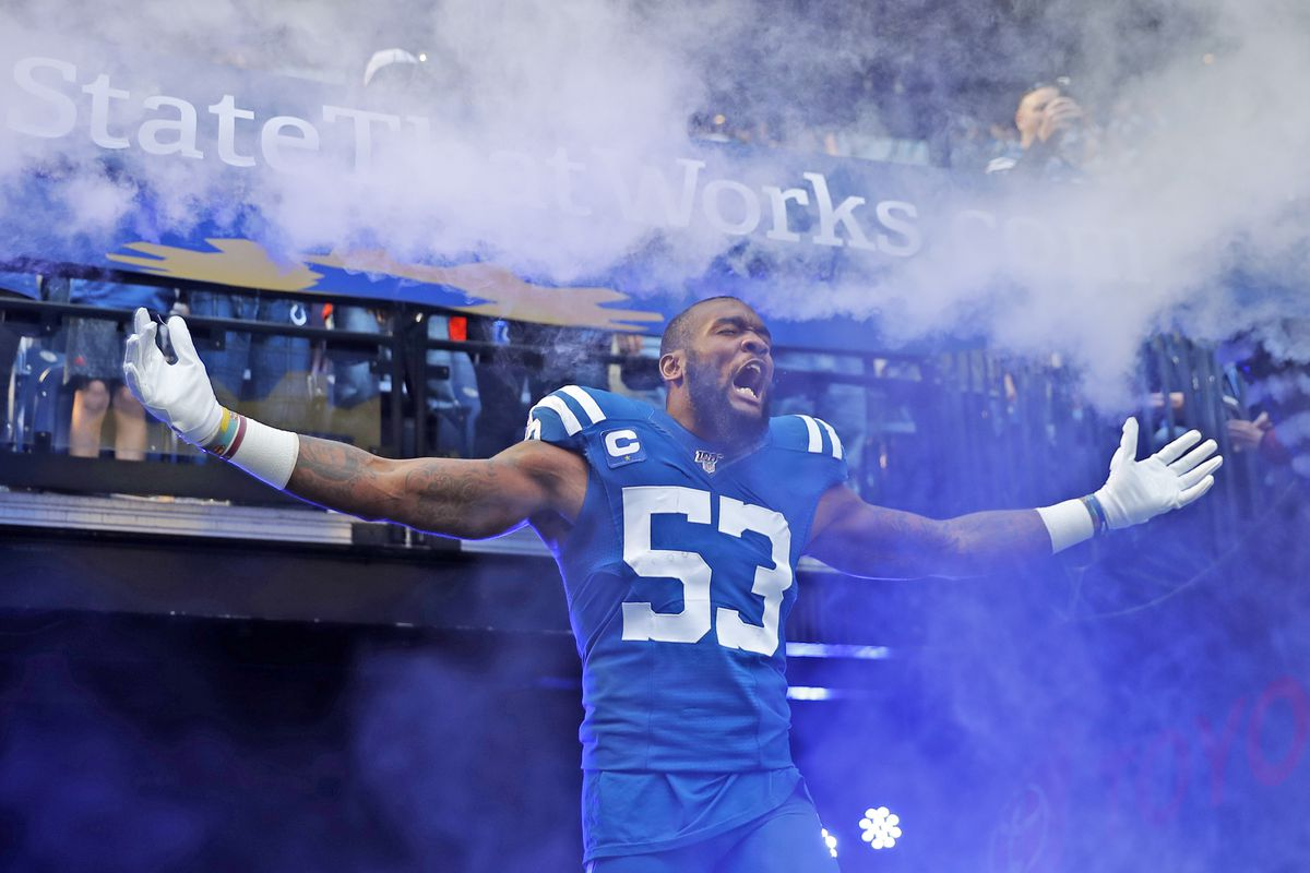 Espn Ranks Colts All Pro Darius Leonard As The Nfl S 4th Best Linebacker For 2020 Stampede Blue