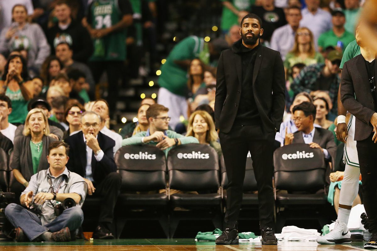 77ecf193bb7 Kyrie Irving s injury forced the rest of the Celtics to step up. Are they  better without him