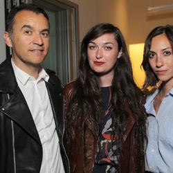 Jamie Garcia, Madeline Follin and Gia Coppola at Phillip Lim. Photo by Chris Weeks