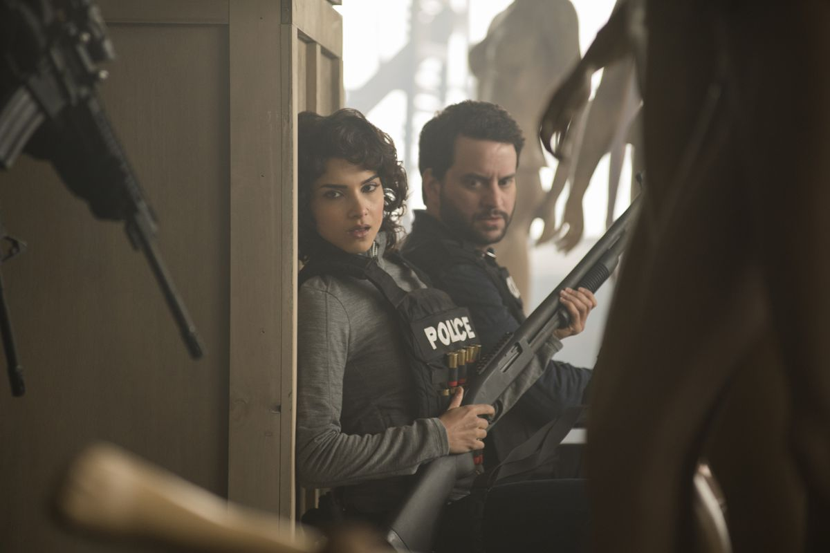 Amber Rose Revah as Dinah Madani in Marvel's The Punisher (2017), Netflix.