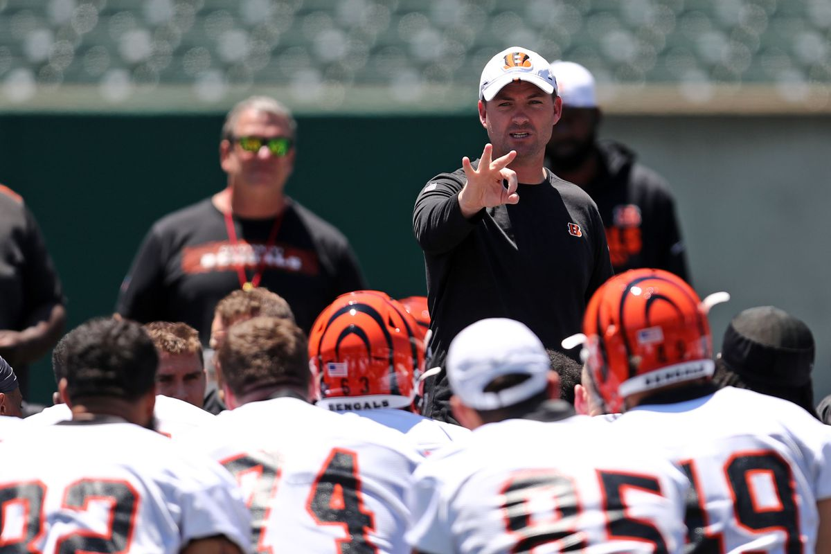 best deals on 24aa2 f679b The Bengals have started to embrace Zac Taylor s system