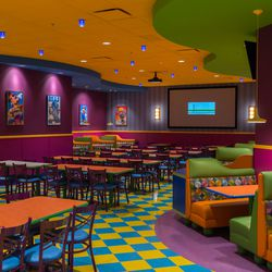 Toon Time Theatre room