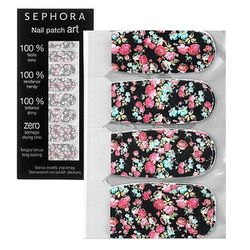 """<b>Sephora</b> <a href=""""http://www.sephora.com/nail-patch-art-P292310?skuId=1469006"""">Nail Patch Art</a> in Chinese Blossom, $5 (on sale from $9)"""
