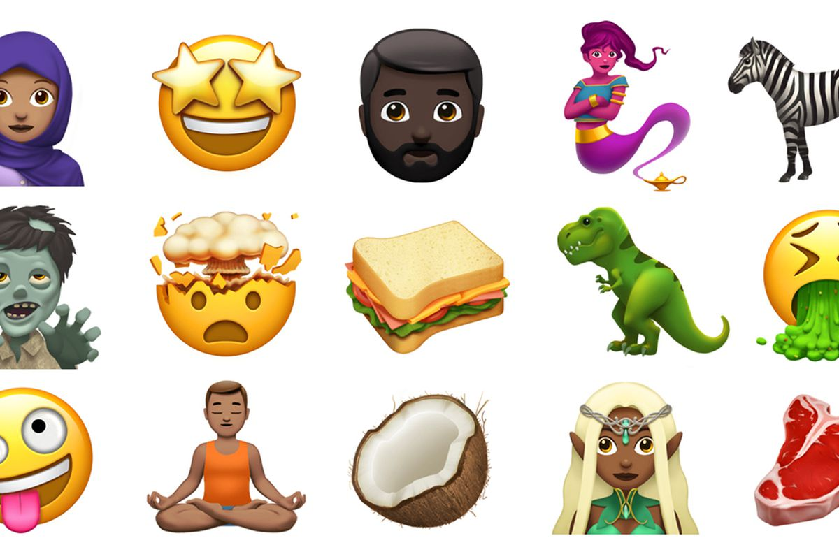 apple shows off some of the new emoji coming to ios and macos later