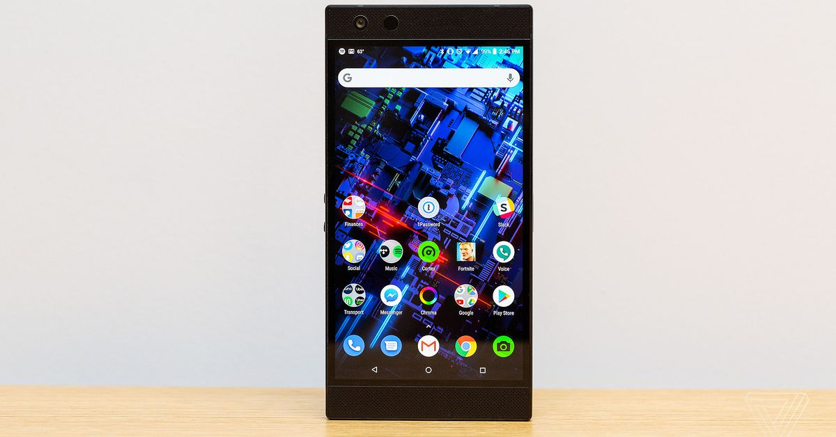 on sale e2ff6 20044 Razer Phone 2 review: it glows, but it doesn't shine - The Verge