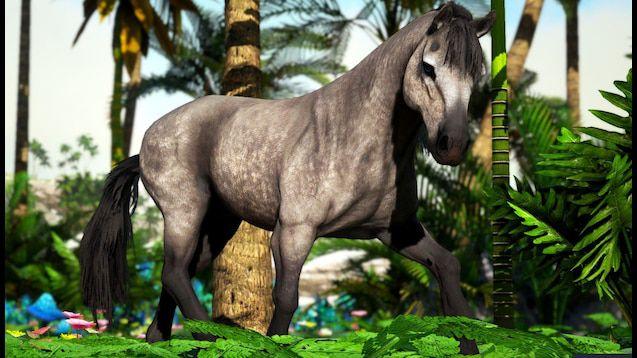 ARK: Survival Evolved includes good options for modded horses