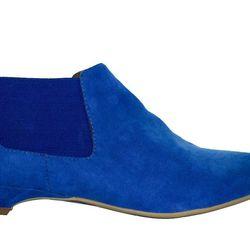 "Jeffrey Campbell for Convert Ortho Blue, <a href=""http://www.ebay.com/itm/NEW-Vegan-Jeffrey-Campbell-Otho-Chelsea-Boot-exclusive-Convert-/251243585027?pt=US_Women_s_Shoes&var=&hash=item801baf5053"">$126</a>"