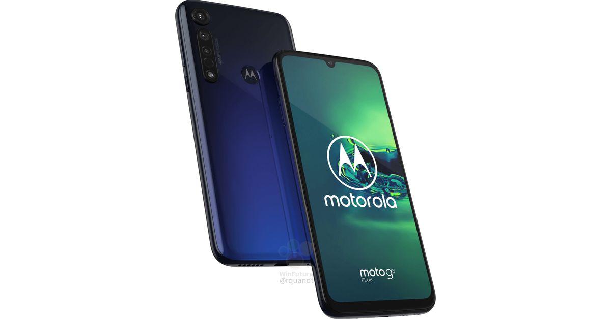 O Moto G8 Plus da Motorola vaza com câmeras traseiras triplas e uma 4, Bateria 000mAh 1