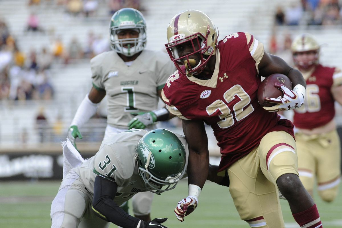 NCAA Football: Wagner at Boston College
