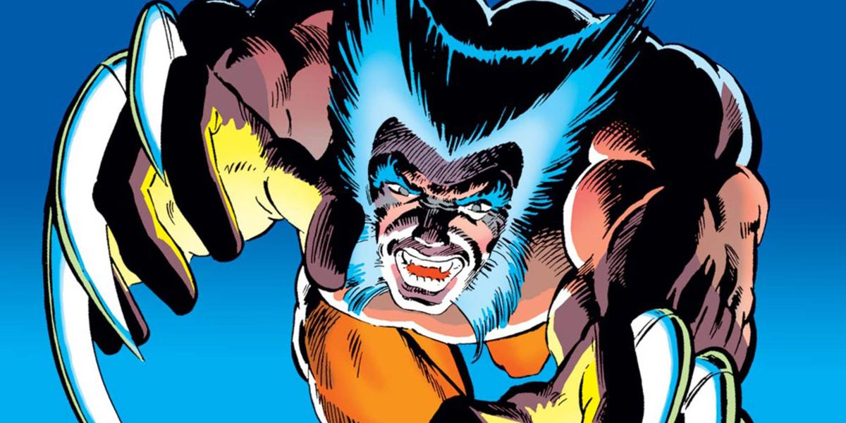 Wolverine leaps at the viewer, claws out, on the cover of Wolverine #2, Marvel Comics (1982).