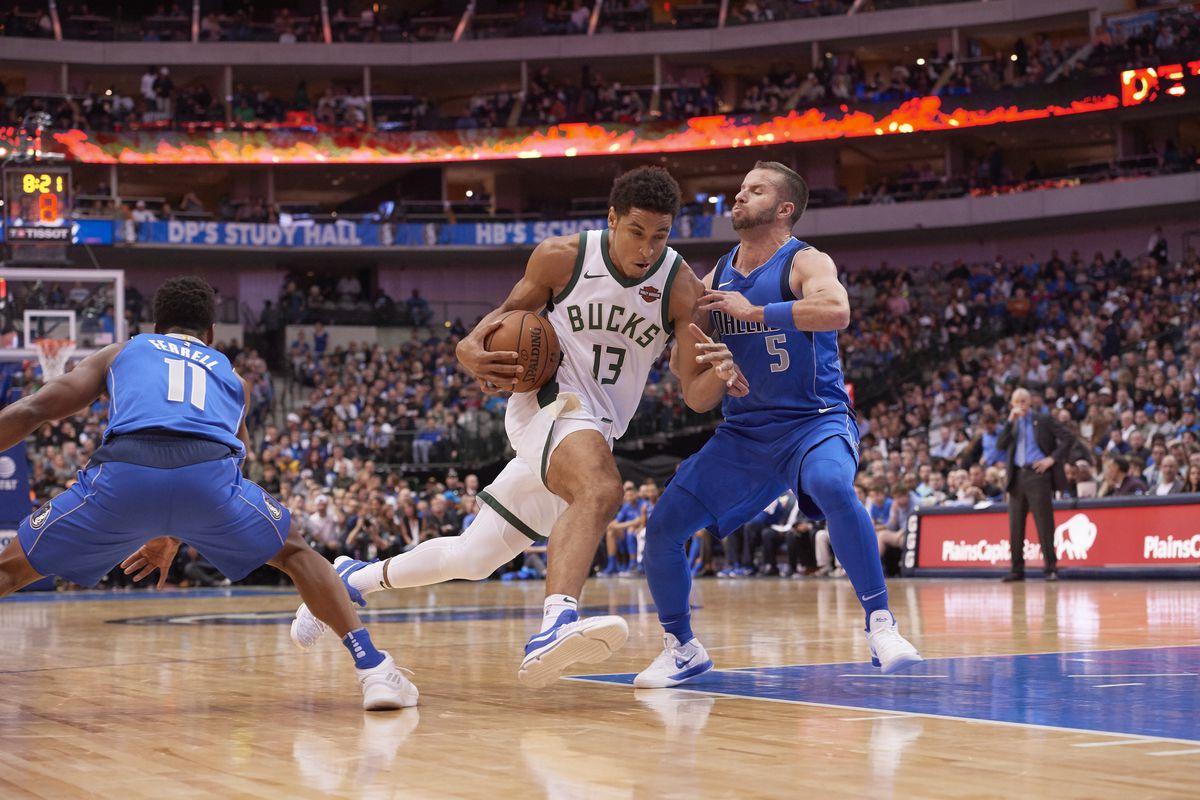 Dallas Mavericks vs Milwaukee Bucks