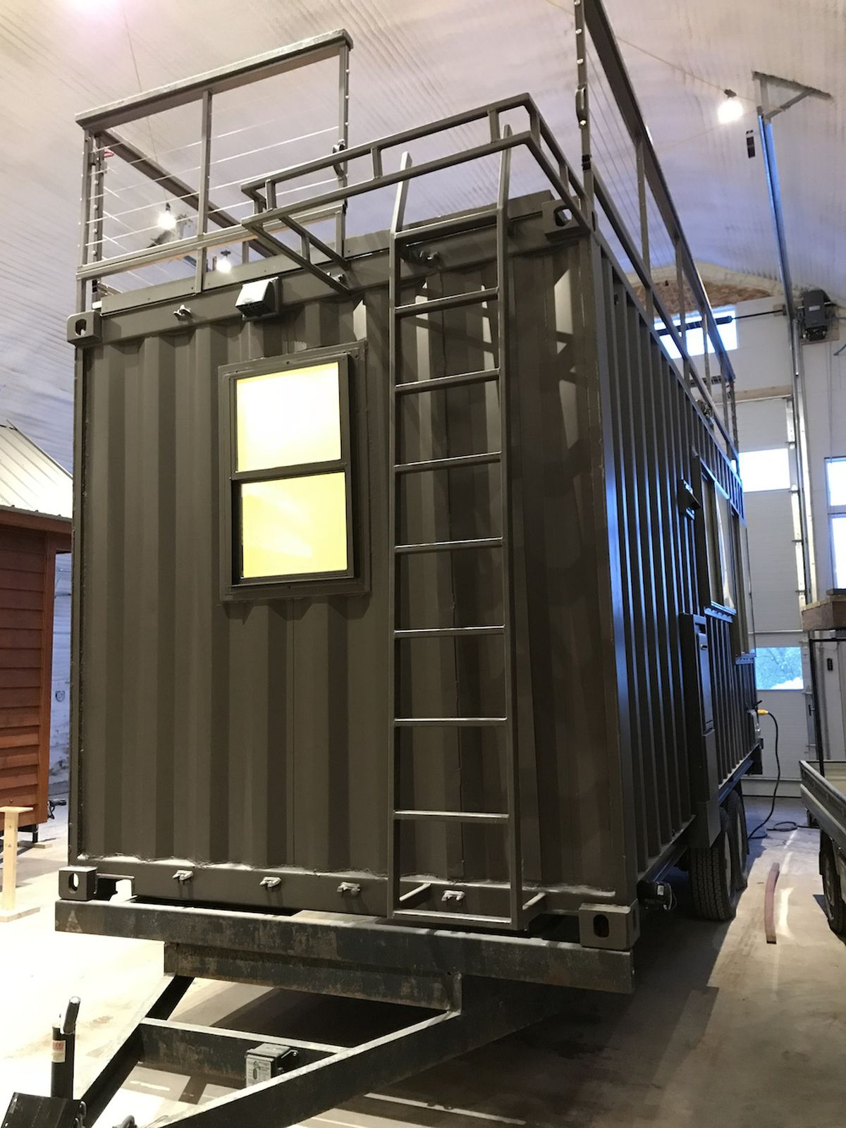 Tiny House Meets Shipping Container In Escape S Vista C