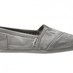 Toms in gray, $48