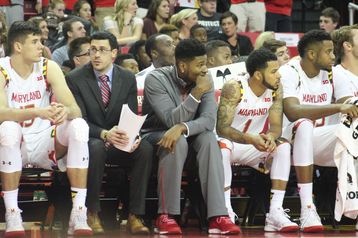Maryland guard Dion Wiley didn't play in the team's exhibition opener on Friday night.