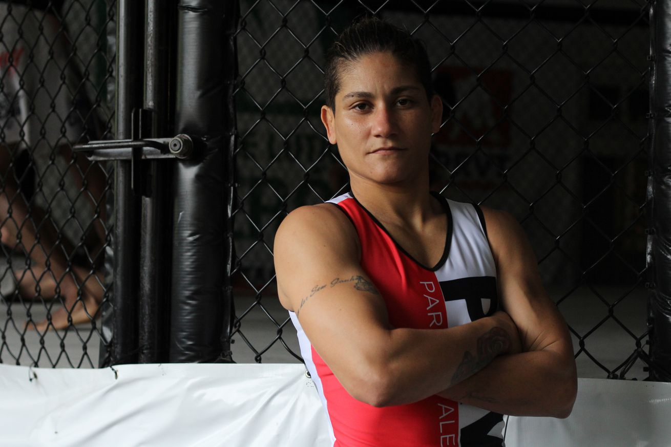 Priscila Cachoeira is set to face Molly McCann at UFC London in March.