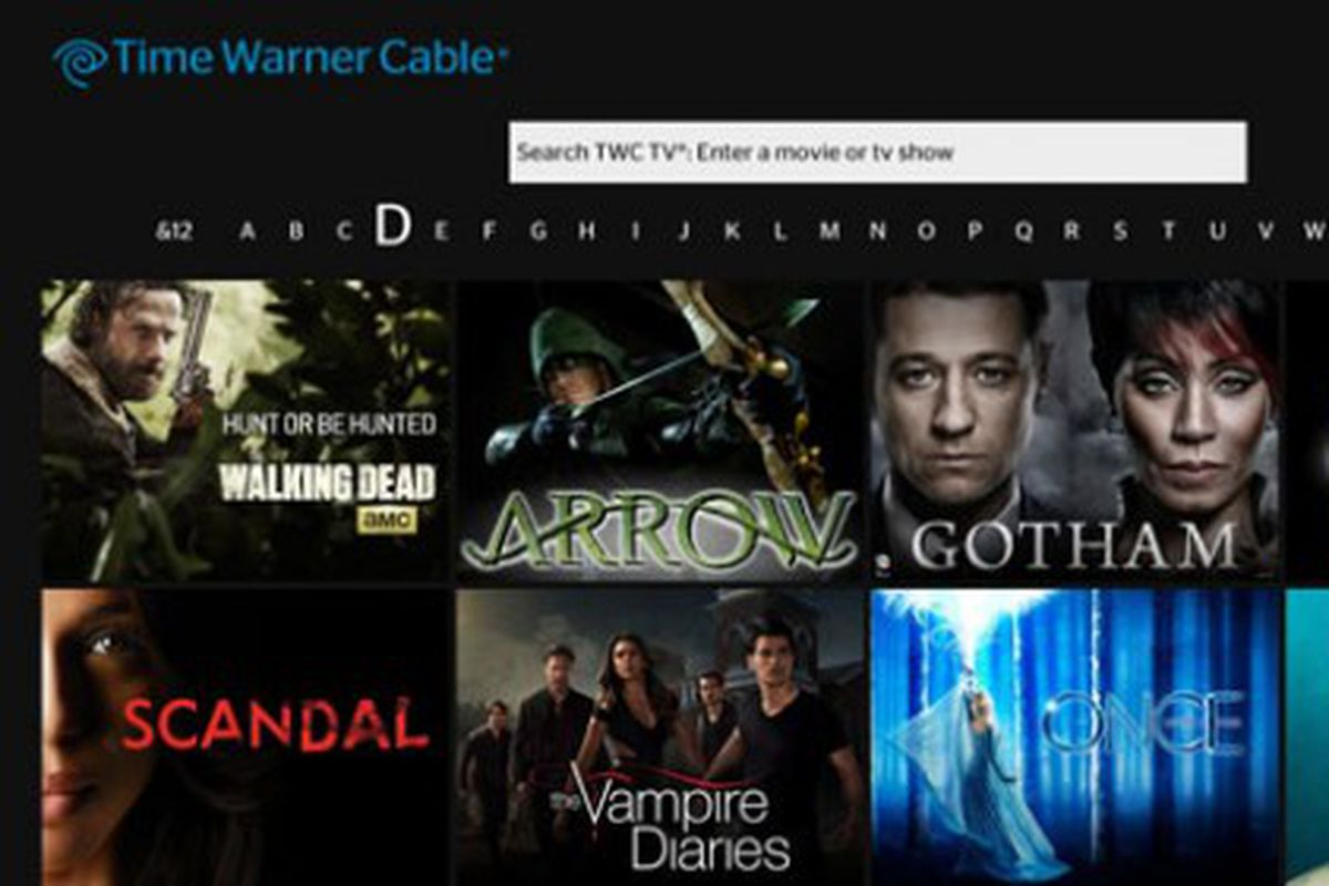 Time Warner Cable's new streaming app for Xbox One is