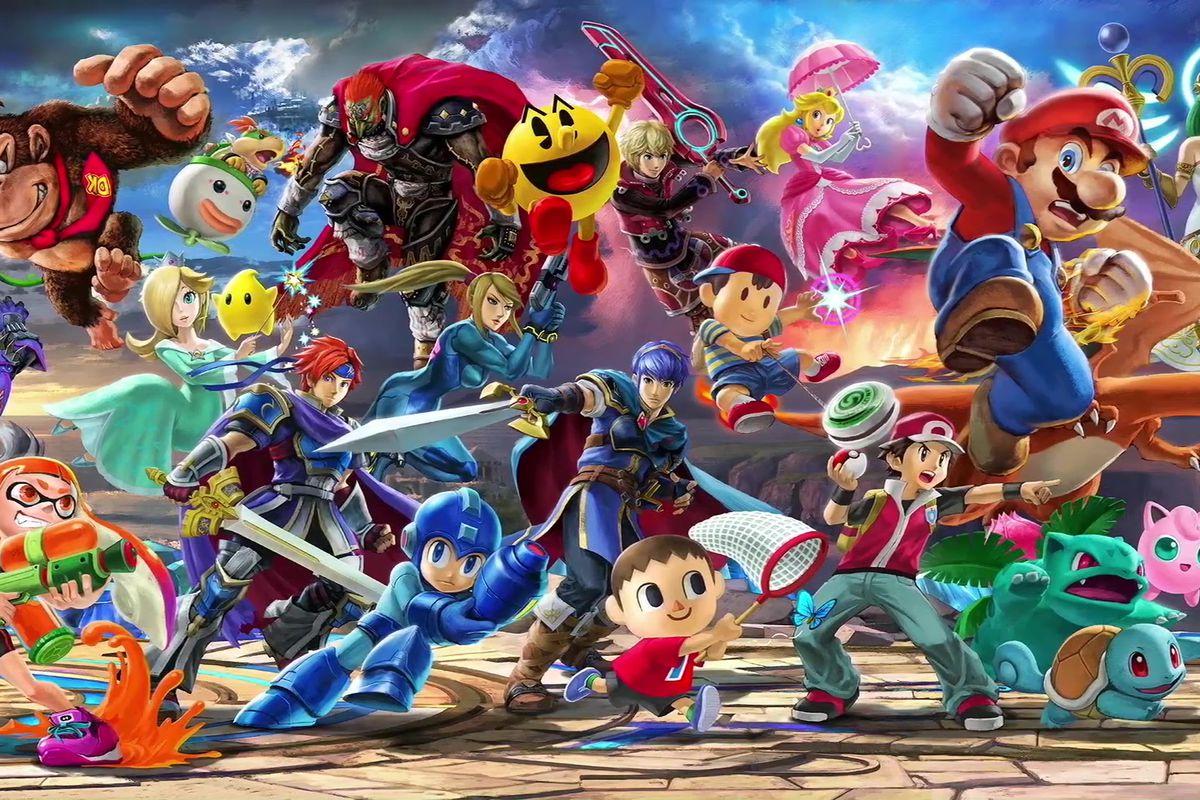 Super Smash Bros. Ultimate character artwork