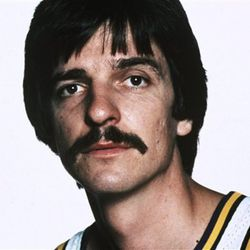 Pete Maravich played basketball with the New Orleans Jazz in 1978.