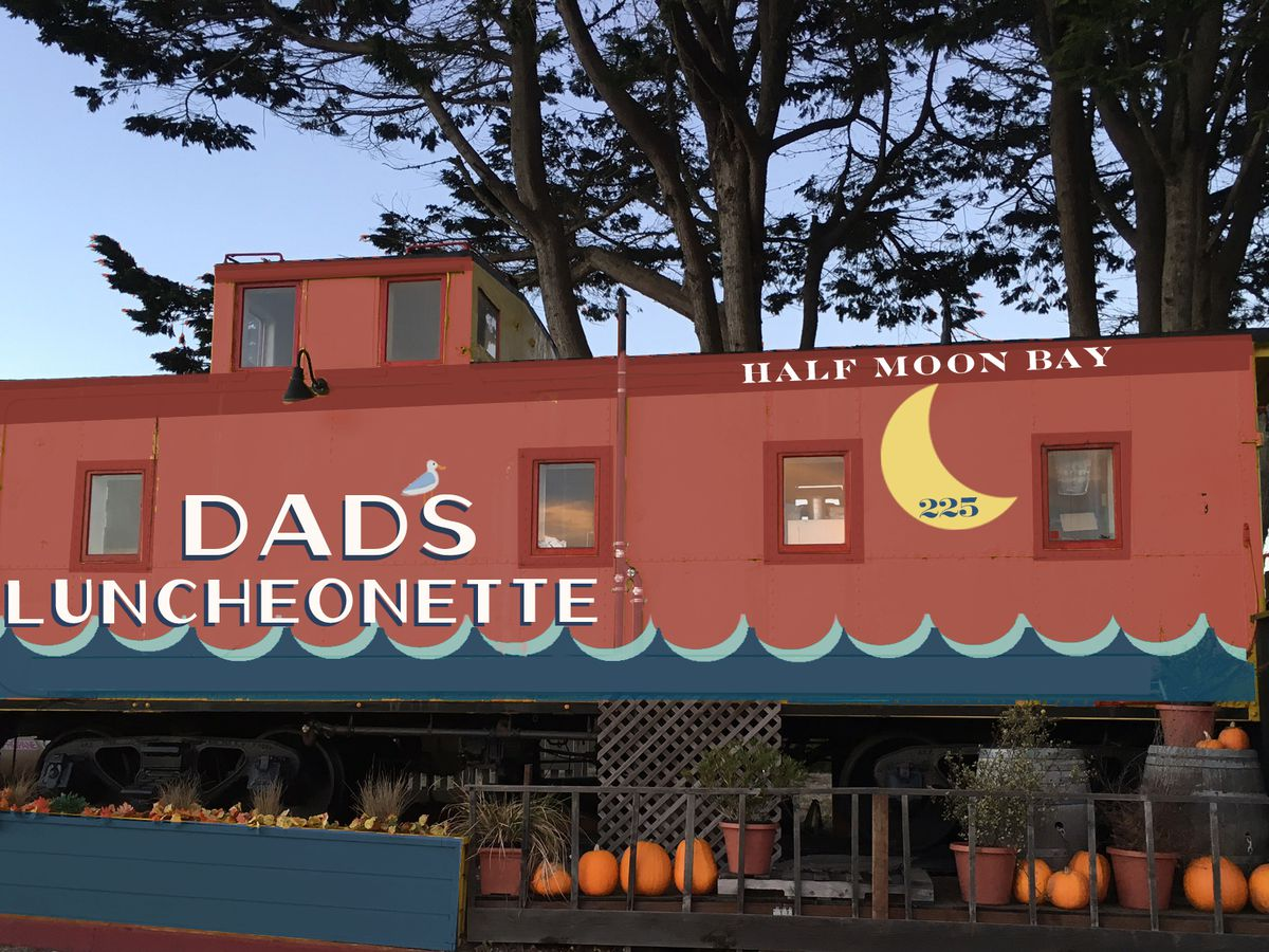 A rendering of Dad's Luncheonette