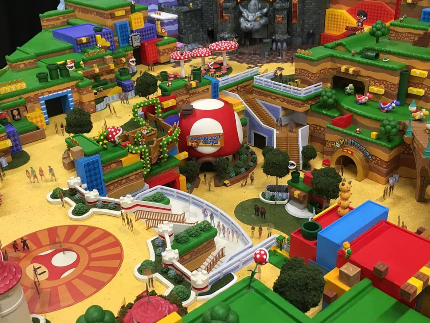 Super Nintendo World Universal Studios Nintendo Land Explained Polygon