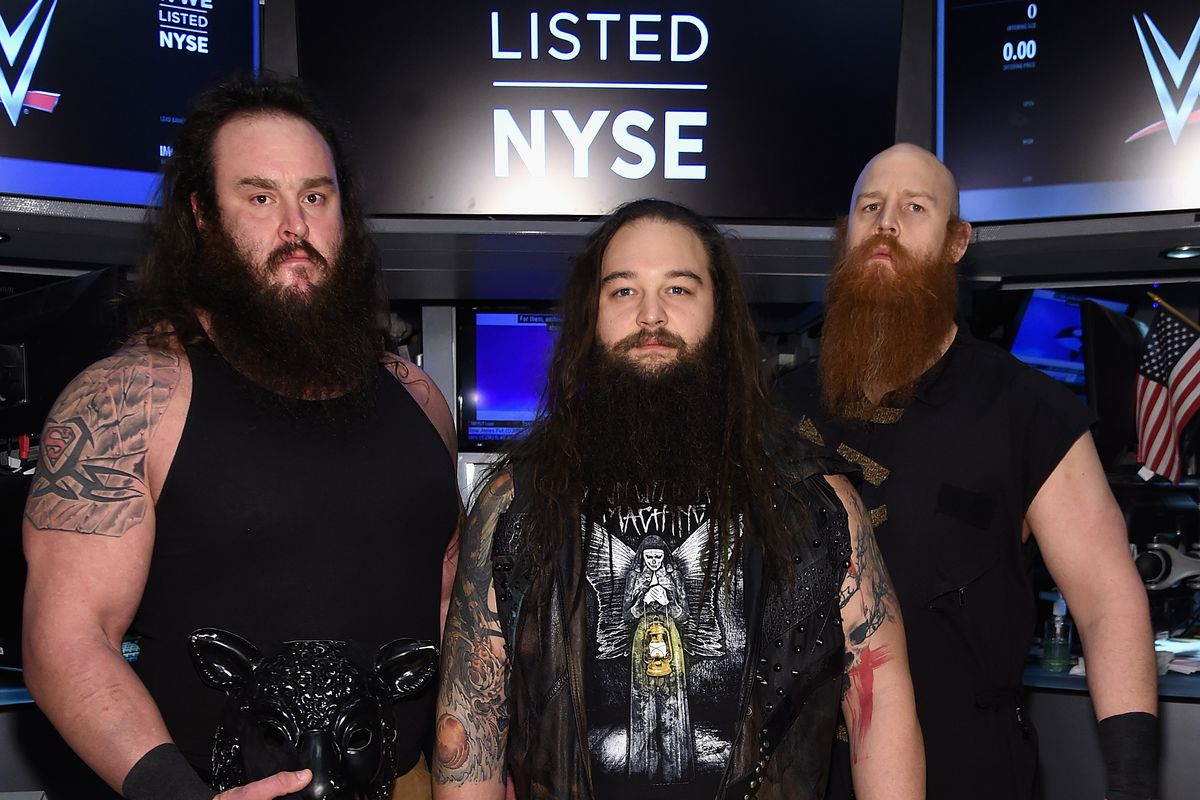 WWE Rings The New York Stock Exchange Opening Bell In Honor Of WrestleMania 32