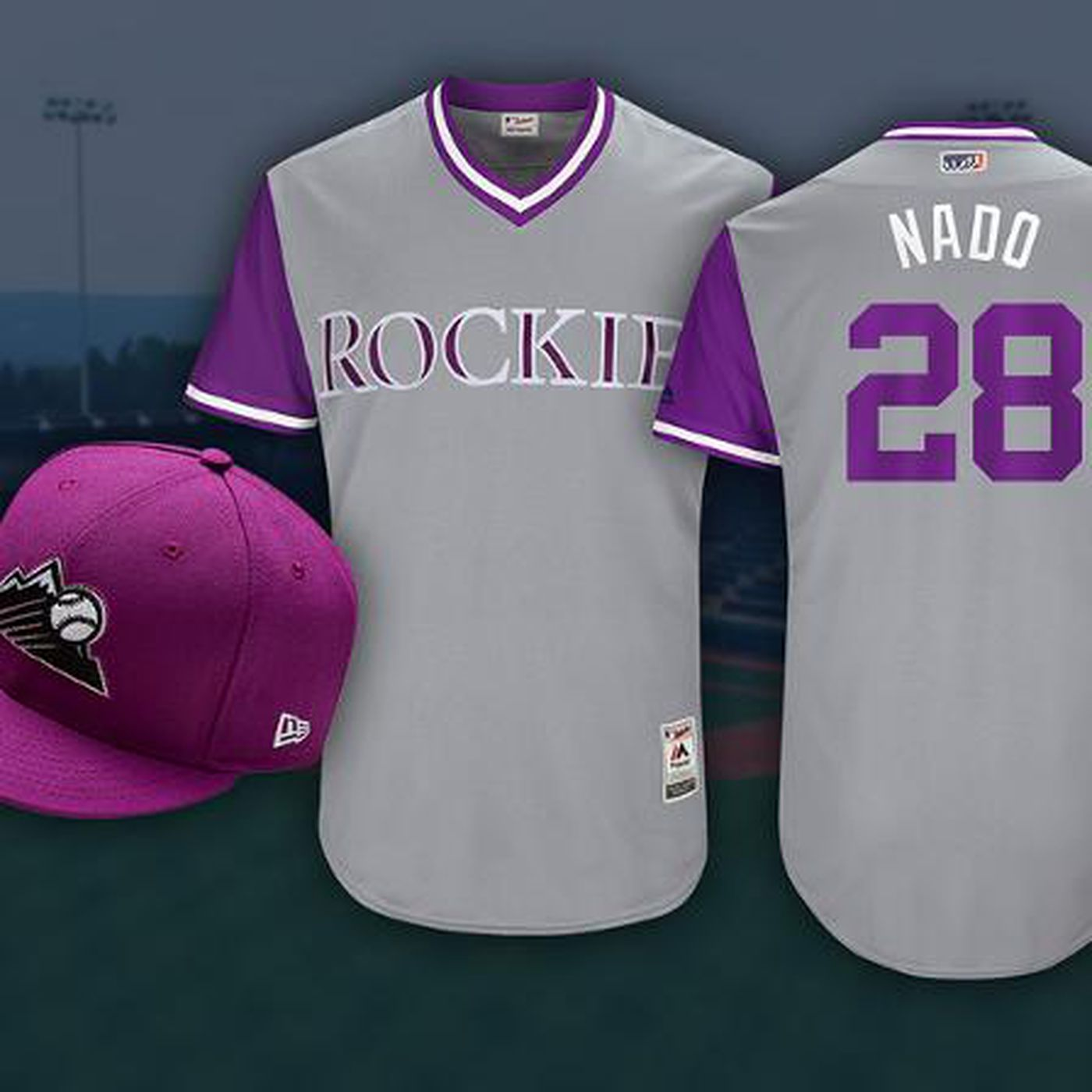 88fed625b Rockies nickname jerseys