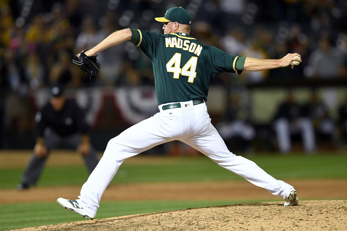 Madson has been one of the best relievers in baseball. Can he keep that up for the A's?