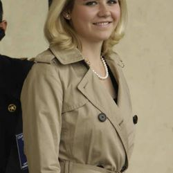 Elizabeth Smart smiles while leaving court after testifying against accused kidnapper Brian David Mitchell during his trial in Salt Lake City, Utah, Wednesday, Nov. 10, 2010.