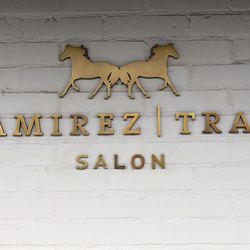 """<span class=""""credit"""">Ramirez Tran Salon Photos: Mixed Makeup</span></br> ↑ Our day concludes with a trek to Beverly Hills, where Yara has an appointment for a complete hair transformation at <a href=""""""""ramireztran.com/"""" target=""""_blank"""">Ramirez Tran Salon<"""