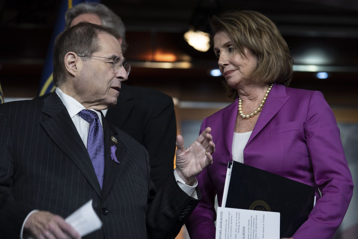 Image result for Pelosi and nadler