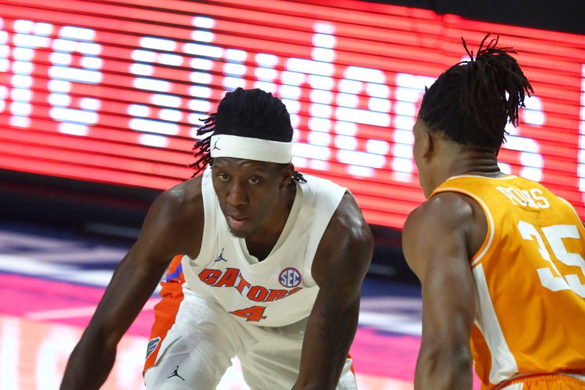 NCAA Basketball: Tennessee at Florida