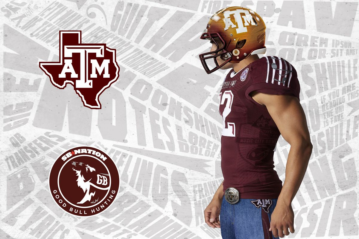 Texas A M goes country with new Music City Bowl uniforms - Good Bull ... cf95f9d23