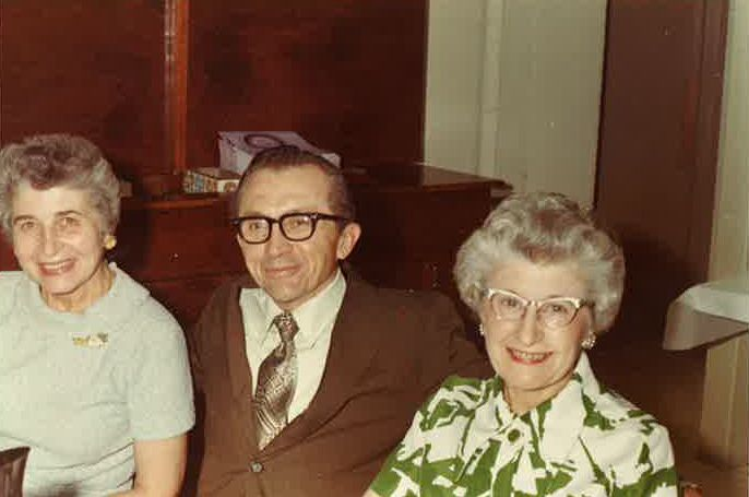 Ernest Ulrich, shown here with his sisters, Lillian Claus, left, and Margaret Ulrich, died in 1999. It only recently was discovered that Ulrich's $1.5 million estate had never been distributed to charity as he requested. | Supplied Photo